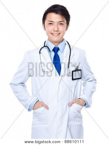 Young Asian doctor