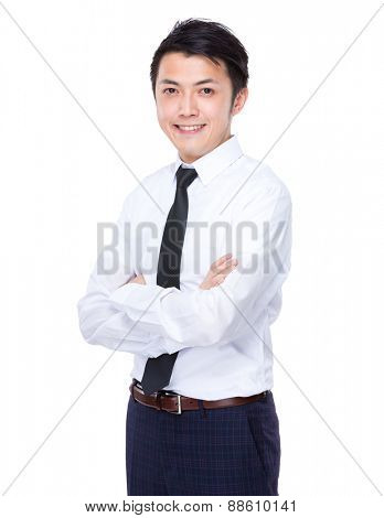 Asian young Businessman