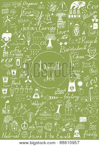 Big doodle set - Eco