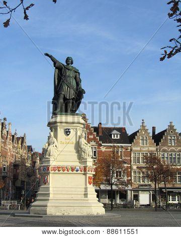 Market Place, Gent, Belgium