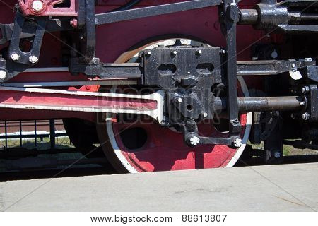 Retro Locomotive Wheels