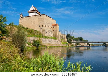 Narva Fortress. Estonia, Eu