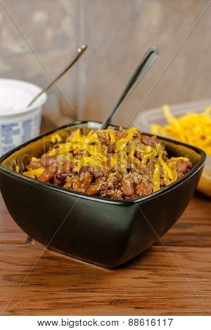 Chili In A Bowl