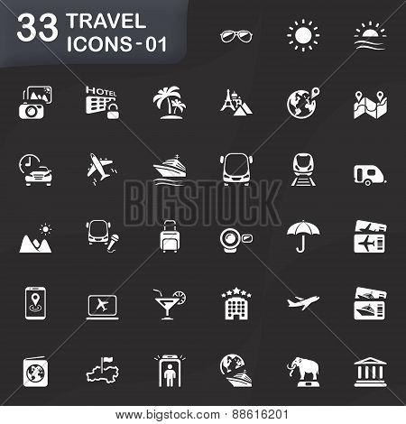 33 Travel Icons