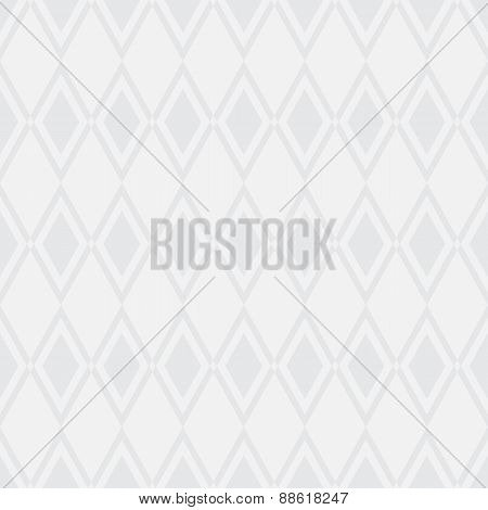 Simple soft grey background with rhombus. Vector Illustration.