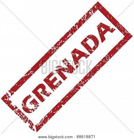 New Grenada rubber stamp