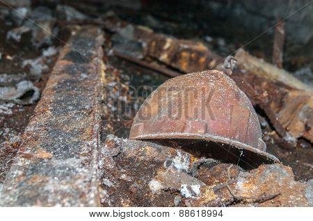 Old Miner Helmet