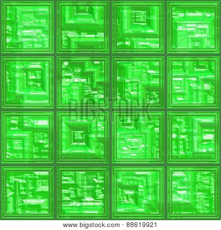 Glass Tiles Seamless Generated Texture