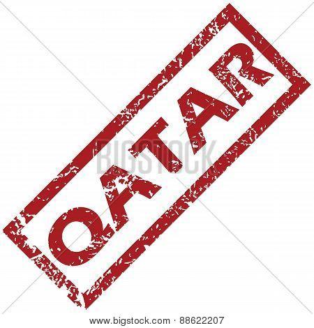 New Qatar rubber stamp