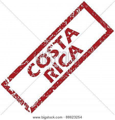 New Costa Rica rubber stamp