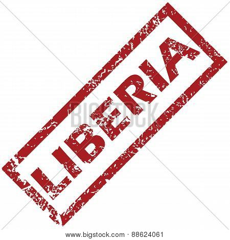 New Liberia rubber stamp