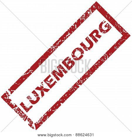 New Luxembourg rubber stamp