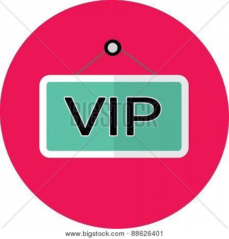 flat icon VIP