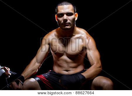 Motivated Latino Fighter