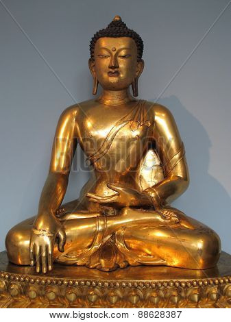 Ancient Tibetan Buddha statue