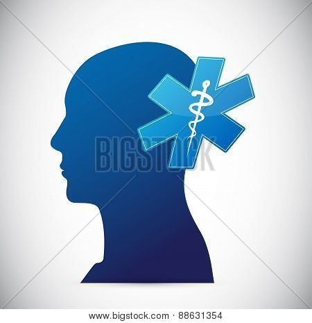 Brain. Medical Concept Illustration