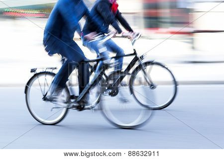 Two Male Cyclists