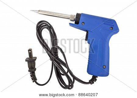 Soldering Equipment Containing A Soldering Gun