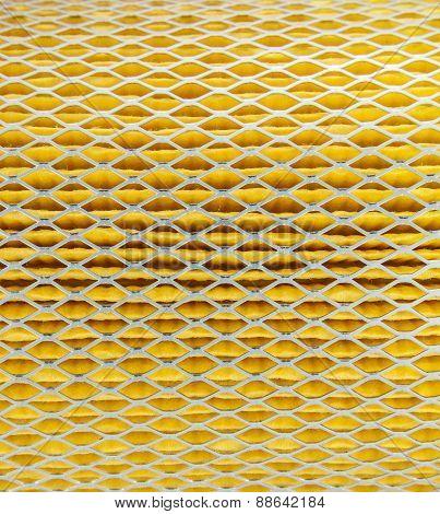 Close Up Texture Air Filter