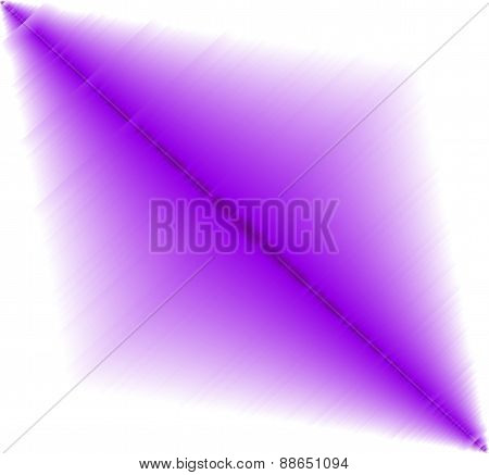 Abstract purple effect on white Background