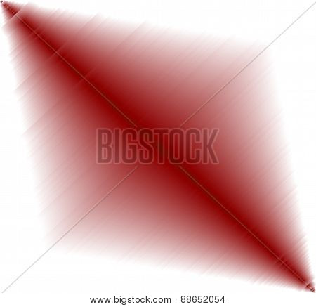 Abstract red metal effect on white Background