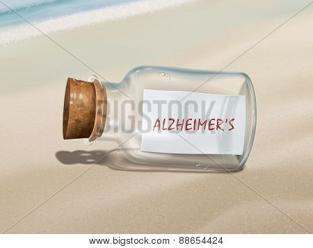 Alzheimer's Message In A Bottle