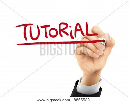 Tutorial Written By 3D Hand