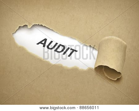 The Word Audit Behind Torn Paper