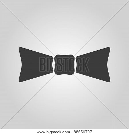 The Bow Tie Icon. Bow Tie Symbol. Flat