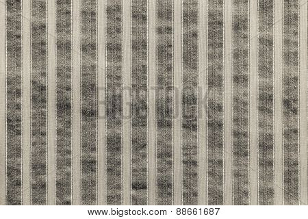 Vertical Texture Of Striped Fabric Beige Color