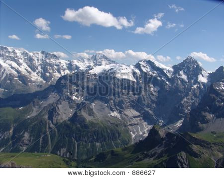 The Breithorn Mountain Range