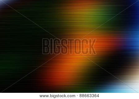 Holiday Colorful Abstract Greeting Card With Beautiful Gradient.