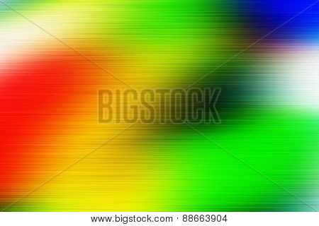 Digitally Generated Image Of Colorful Black Background.