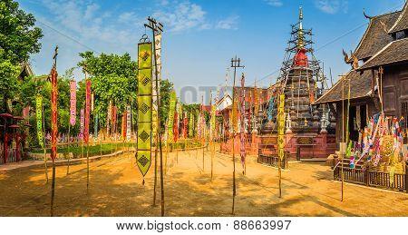 Phan Tao Temple Panorama