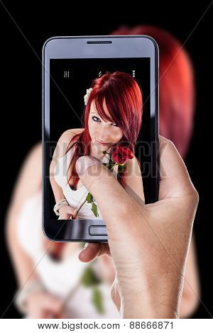 Photographing With A Mobile Phone