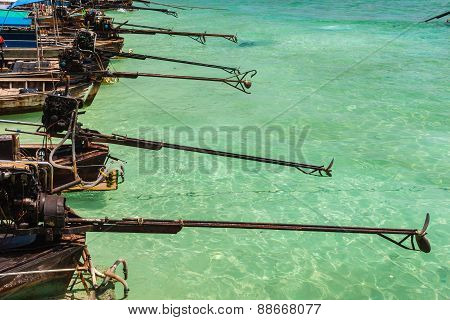 Longtail Boats Propellers