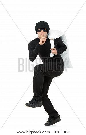 Funcionamiento criminal a una bolsa de transporte