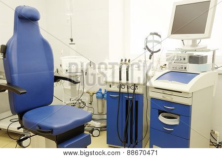 Interior of ENT consulting room