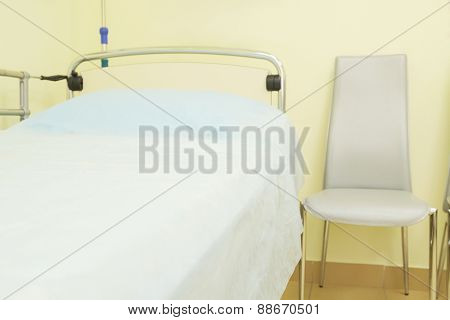 Interior of a hospital chamber