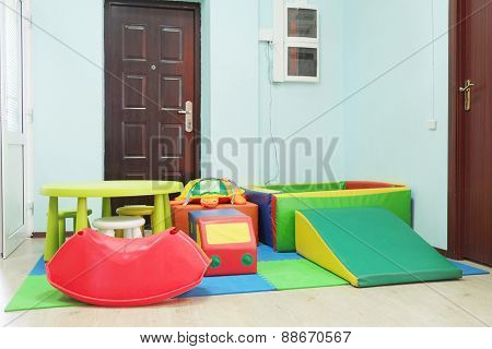 Empty children's playroom
