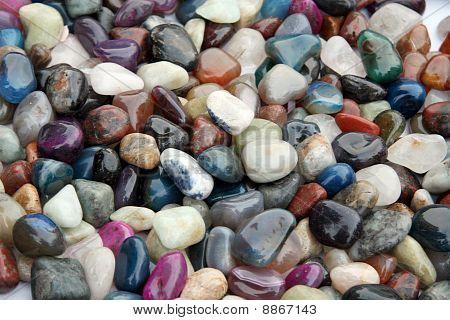 Multi-coloured Ornamental Stones