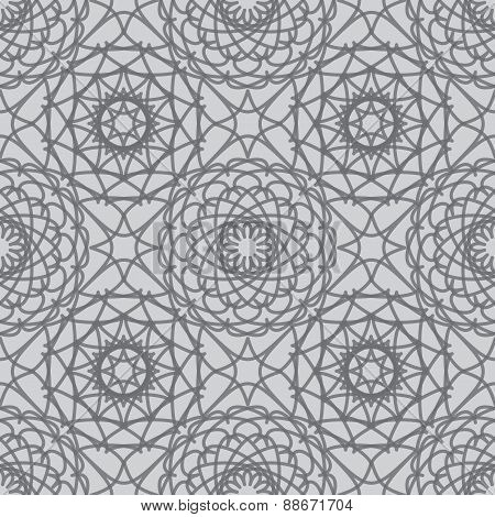 Vintage lace seamless pattern