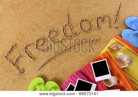 Freedom Beach Background