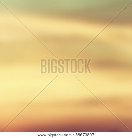 Blurred background of sky