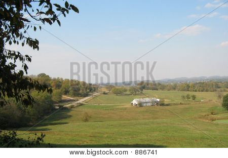View Of A Farm