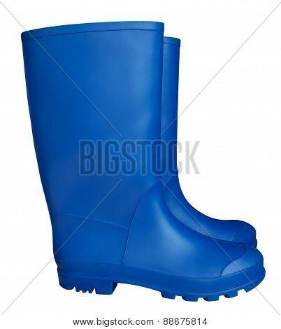 Rubber Boots - Blue