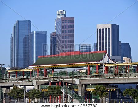 Chinatown Station In Los Angeles
