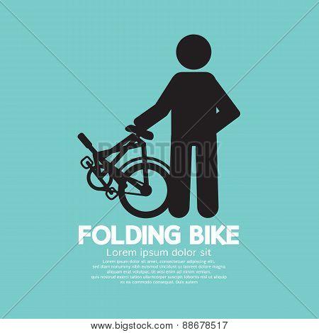 Single Folding Bike.