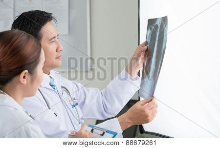 Looking At Chest X-ray