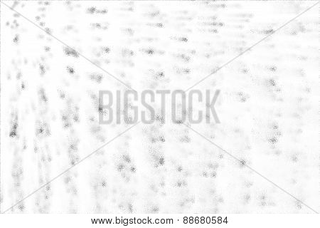 Speckled Gray On A White Background